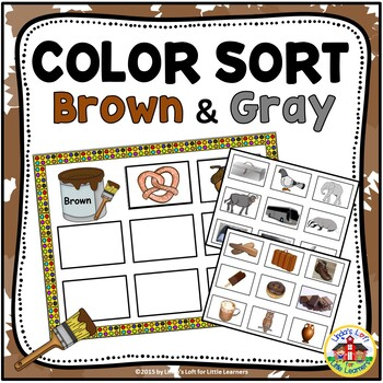 Sort by Color: Brown and Gray