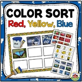 Sorting by Color: Red, Yellow, and Blue