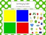 Color Sorting Activity for Promethean Board