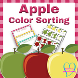 Color Sorting: Apple Color Sorting and Sequence Activity