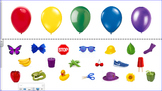 Color Sorting - Balloons