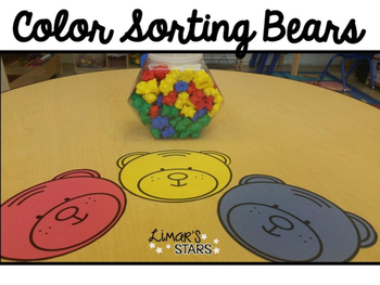 Color Sorting Bears {FREEBIE}