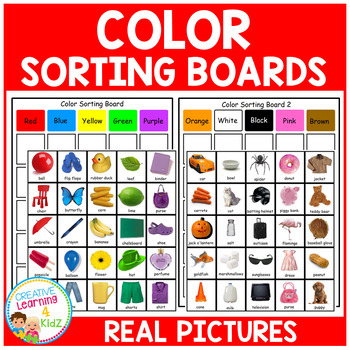 Color Sorting Boards