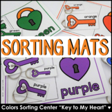 Colors and Color Words Sorting Center