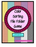Color Sorting Games- TEACCH Tasks for Student's with Special Needs