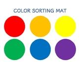 Color Sorting Mat