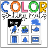 Color Sorting Mats and Worksheets