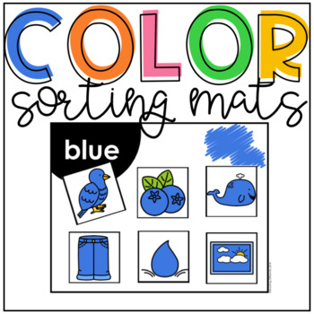 Color Sorting Mats (Autism and Special Education)