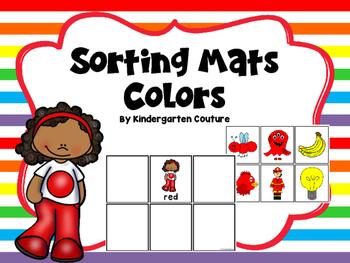 Color Sorting Mats