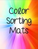 Colors - Color Sorting Mats