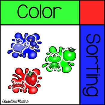 Color Sorting - Mats & Pictures