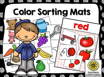 Color Sorting Mats and Cards