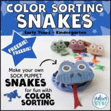 Color Sorting Snakes (Sort by color, counting, circle time