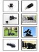 Color Sorting Task Box Cards -Black White Gray Brown