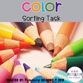 Color Sorting Task (Velcro Tasks for Students with Autism)