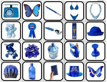 Color Sorting of Objects Mega Bundle for Autism