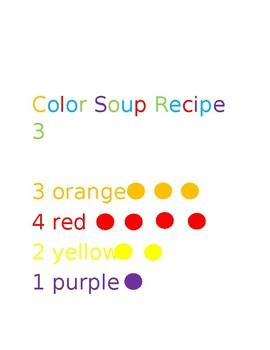 Color Soup Recioe