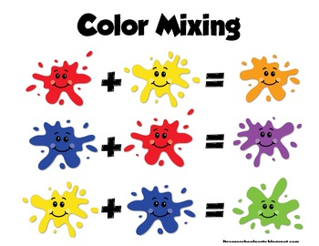 Color Splash Mixing Fun