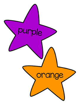 Color Names Star Wands FREE