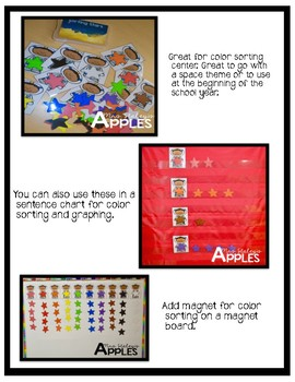 Color Stars Sorting