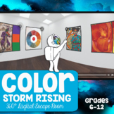 Color Digital Escape Room 360° - Color Storm Rising Escape