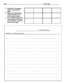 Color Story handout
