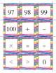Math & Number Cards (Color Stripes)
