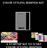 Color Styling Business Kit, A Startup Kit to Start Color Styling Business