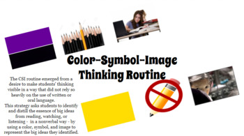 Color-Symbol-Image Thinking Routine