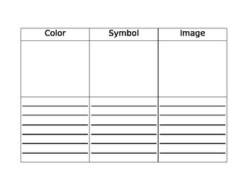 Color, Symbol, Image Thinking Routing