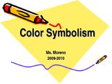 Color Symbolism PowerPoint Presentation