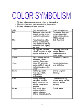 Color Symbolism and Perspective
