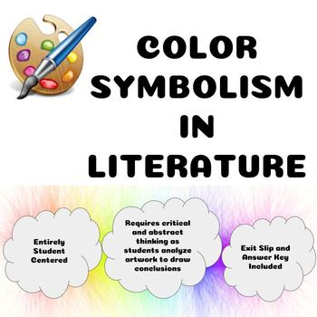 Symbolism In Literature Teaching Resources Teachers Pay Teachers