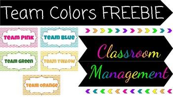 Color Team Management