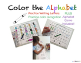 Color The Alphabet! (Fun letter practice)