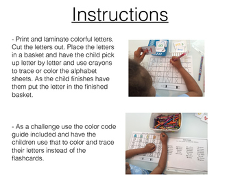 Color The Alphabet! (Fun letter practice)
