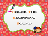 Color The Beginning Sound