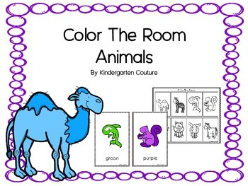 Color The Room -Animals