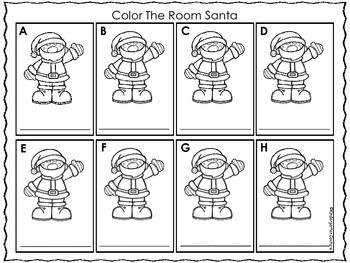 Color The Room -Santa