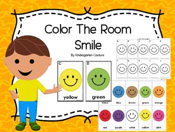 Color The Room -Smile FREEBIE
