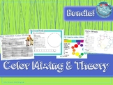 Interactive Color Wheel & Mixing Lesson, Element of Art, Art Project