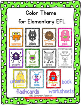 Color Theme for Elementary ESL-EFL-ELL