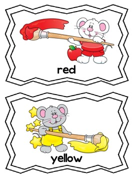 Color Themed Read and Write the Room