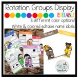 Color Themed Rotation and Group Display | EDITABLE