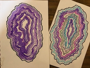 Color Theory- Agate Lesson Plan