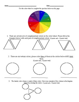 Color Theory Assessment