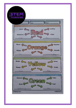 Color Theory Graphic Design Art Doodle Notes  STEAM