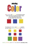 Color Theory Poster * Primary Colors Secondary Colors