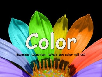 Elements of Art: Color Mini-Lesson PowerPoint