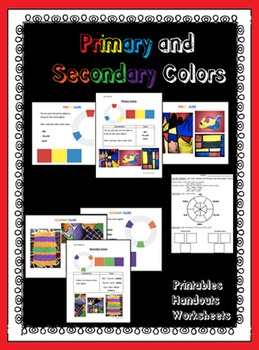 Color Theory: Primary and Secondary Colors